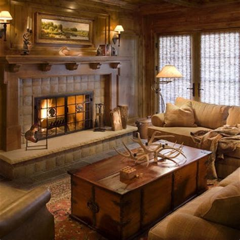 lodge themed living room lodge design tile fireplace works with theme rooms i design ideas for the