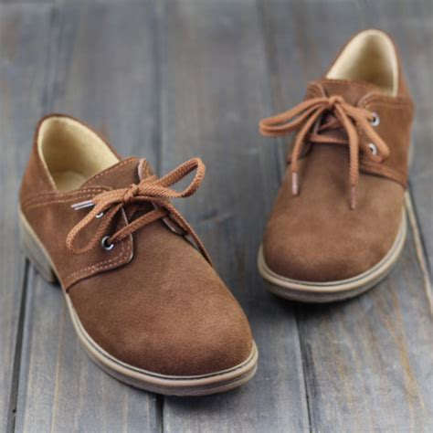 brown leather flat shoes ohanna shoes oxfords shoes brown leather flat shoes