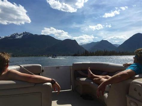 pontoon boat rental dillon co great scenery from lake dillon