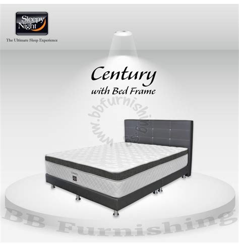 Mattress Century by Century Mattress With Free Bedframe Promotion