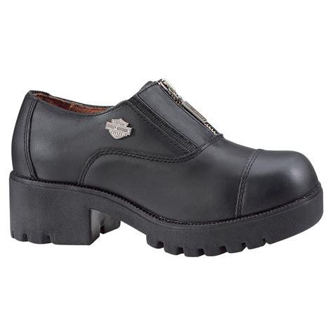 s harley davidson 174 alternator shoes black 99572