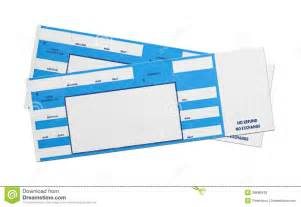blue concert tickets royalty free stock photos image