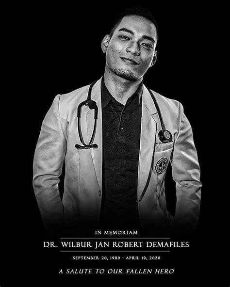 FALLEN HERO: Dr. Wilbur Tan Demafiles Succumbs To COVID-19