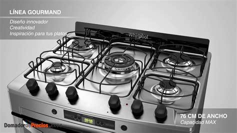 cocina whirlpool cocina whirlpool wf360xg linea gourmand youtube