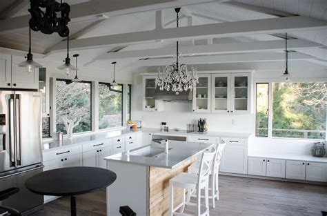 beautiful vaulted kitchen ceiling lighting design and