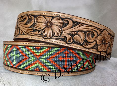 Handmade Beaded Belts - custom belts