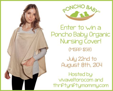 Free Baby Giveaways 2014 - poncho baby organic nursing cover giveaway miss frugal mommy