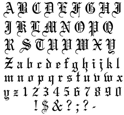 traditional tattoo font 12 best images about fonts on