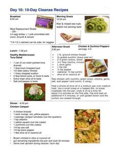 10 Day Detox Diet Recipes Pdf by Advocare 10 Day Cleanse Pdf Remember That The