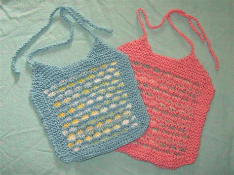 free knitted baby bib patterns handsome or pretty bibs to knit for baby free