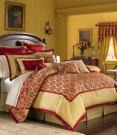 red yellow bedroom red yellow bedroom on pinterest red bedrooms toile and country bedrooms