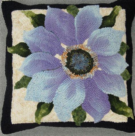 hooked floral bell rug 888 best rug hooking florals images on