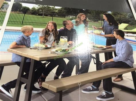 lifetime folding tables costco lifetime products folding picnic table costcochaser