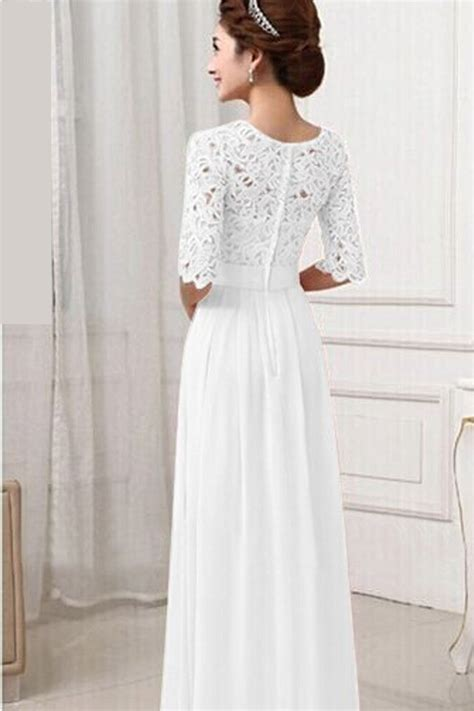 Chiffon Lace Dress kettymore winter dresses lace designed