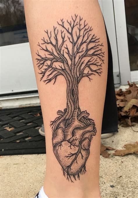 heart tree tattoo best 25 tree ideas on 3 hearts