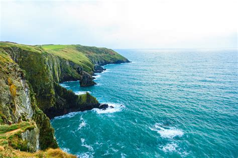 landscape coastline atlantic coast county cork