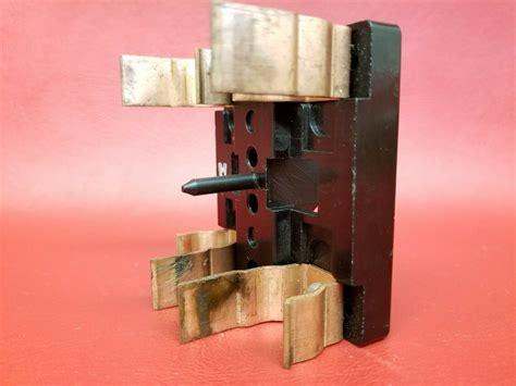square  lights  fuse pull  fuse holder   amp switch vintage