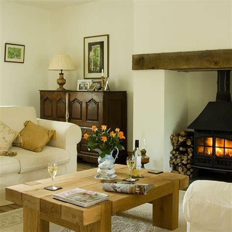 traditional living room ideas uk traditional living room with woodburner decorating housetohome co uk