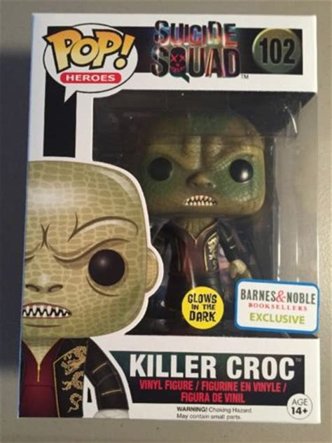 Funko Pop Heroes Squad Killer Croc 102 barnes noble funko mystery boxes out now exclusive