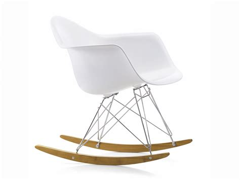 armchair rocking chair buy the vitra rar eames plastic armchair at nest co uk