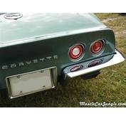 1970 Corvette Stingray Rear Bumper