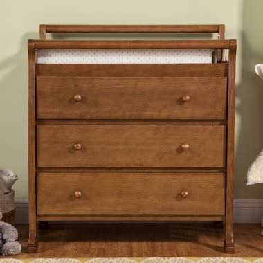 chestnut changing table davinci kalani 3 drawer changer in chestnut free shipping