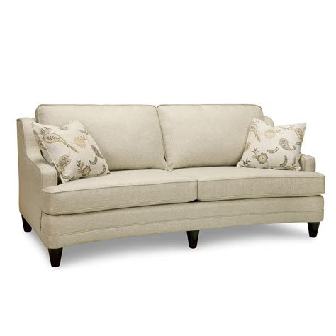 superstyle sofa superstyle 9691 curved condo sofa stoney creek furniture