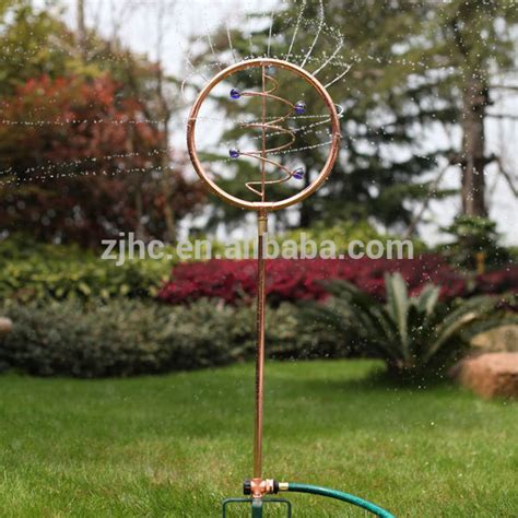 vortex ornamental decorative garden water sprinkler buy