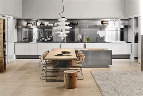 famous kitchen designers 20 modelli di cucine open space per grandi spazi