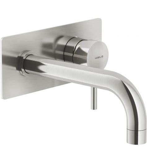 rubinetto nobili miscelatore lavabo monocomando a parete nobili live