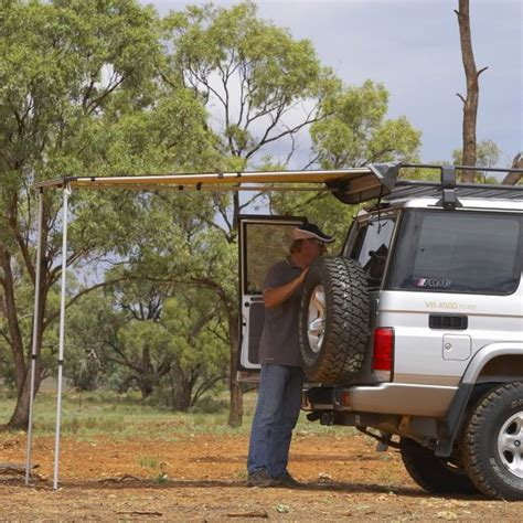 arb awning for sale arb 1250x2100mm awning for vw amarok roof rack
