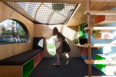 doherty design studio constructs children's cubbyhouse for