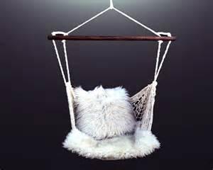 vintage macrame hammock swing chair 1970s 70s outdoor indoor