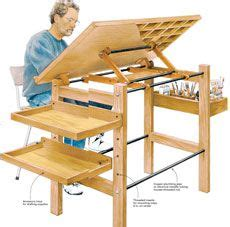 Drafting Table Woodworking Plans Drafting Table Or Craft Table Do It Myself Pinterest Woodworking Woodworking Ideas