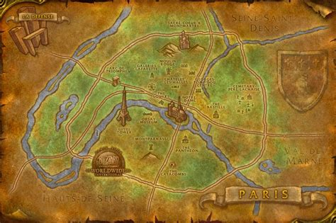 wow map wow map of wow
