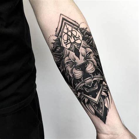 Tätowierung Unterarm Motive by Lwen Vorlage Partner Tattoos Lwen Lwenkopf