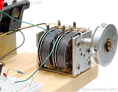 variable tuning capacitor radio mk484 radio