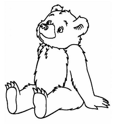 bears of color free printable teddy coloring pages for