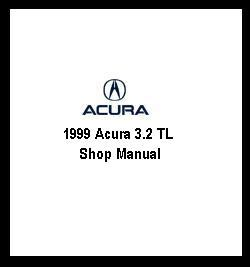 1996 acura 3 2 tl repair shop manual original supplement 3 2tl service book ebay 1999 acura 3 2 tl shop manual