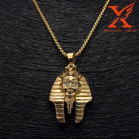 Gelang Hiphop Gelang Emas Gelang Cowo Gelang Pria klasik lintas perhiasan berlapis emas 14 k warna emas salib yesus pendant untuk pria perhiasan