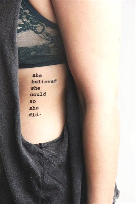tattoos for girls quotes new year s quotes and stylish tattoos for 2015 trendsurvivor