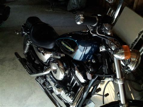 Harley Davidson Factory Custom Paint by 2000 Harley Davidson Sportster Xl1200c Factory Custom