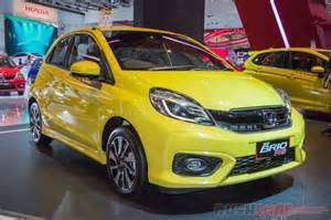 honda brio club indonesia honda brio facelift brio rs yellow 2016 indonesia auto