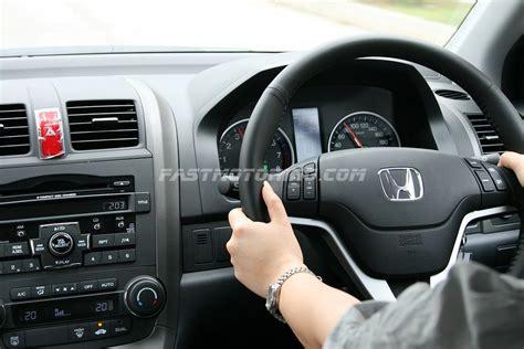 Crv 2010 Interior by 2010 Honda Cr V Facelift In Malaysia Review