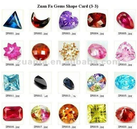 machine cut name gemstone pink cut cz products buy