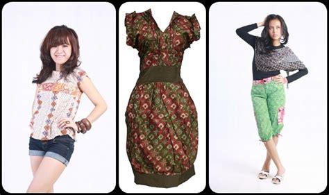 model gaun batik modern model baju batik kantor 2014 auto design tech