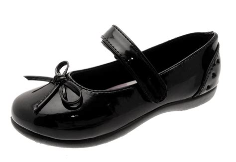 chatterbox black school shoes faux leather