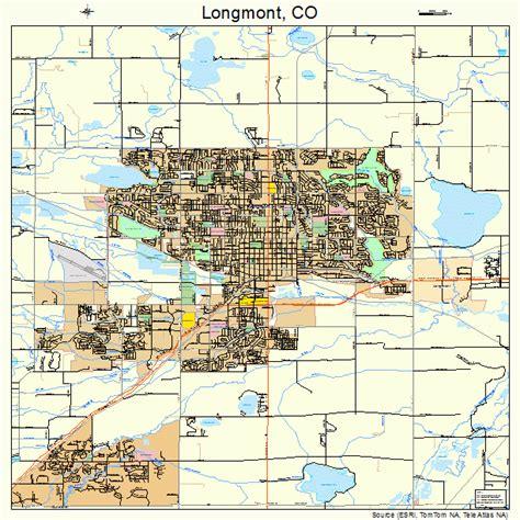 longmont co map longmont colorado map 0845970