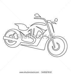 Autoaufkleber Für Vw by Ausmalbilder Motorrad Harley Zeichnen