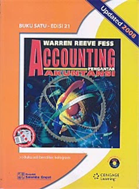 Accounting Indonesia Adaptation By Carl Warren toko buku rahma warren reeve fess accounting pengantar akuntansi update 2008 buku satu edisi 21